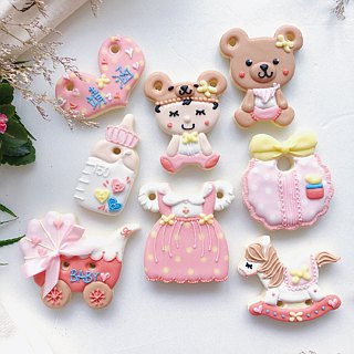 Receiving Sugar Cookies • Bobo Baby Girl Gift Set 8