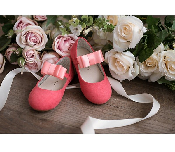 Baby Day Classic Dream Doll Shoes - Sweet Orange