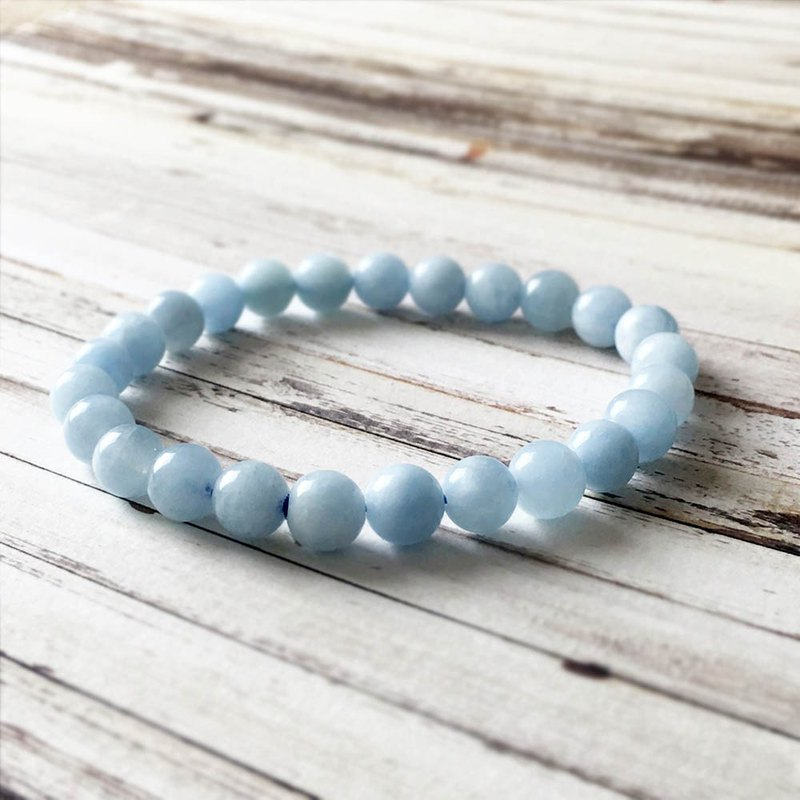 | Classic Collection | Natural Aquamarine (Bracelet x Bracelet x Handmade x Customized.)