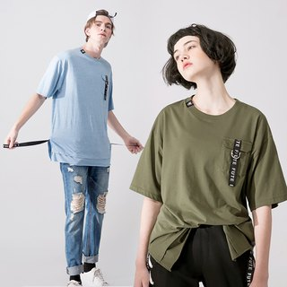 UNISEX T SHIRT WITH POCKET