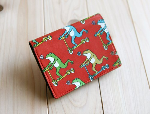 Copy Business Card · Card Case Frog Kun no. Red