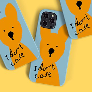 I Don't Care - Phone Case