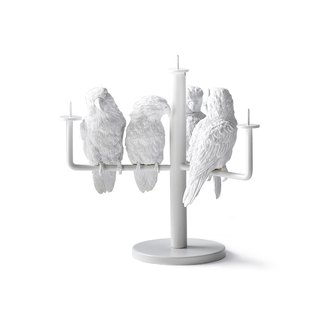 鸚鵡燭檯 / Parrot X Candle Holder_four parrot