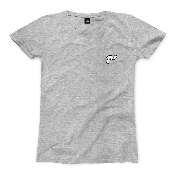 Liver - Deep Heather Grey - Women's T-Shirt