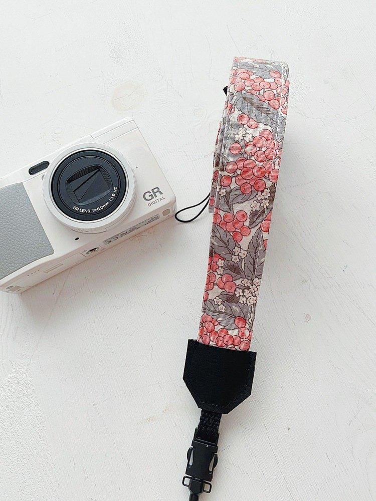 hairmo豐收果實相機背帶/手腕帶-灰(相機/手機/證件)