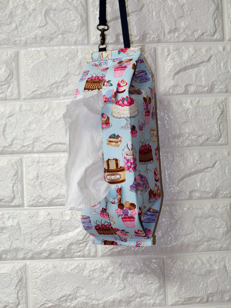Dessert cake can be hung-style movable hook storage bag toilet paper / paper cover*SK*