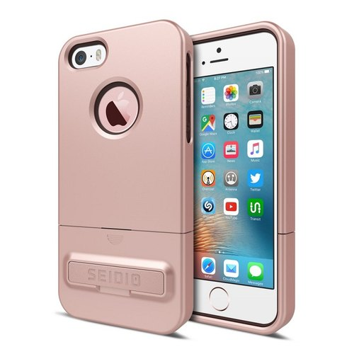 City fashion two-color cover / case for iPhone SE-Rose Gold -SURFACE ™ series