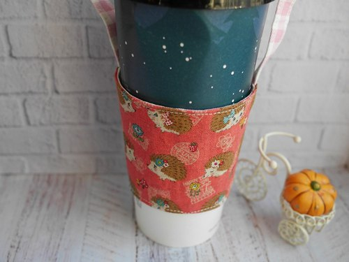 Hedgehog Drink Cup Set Eco Cup Set