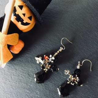 The last set, limited item! Skull pierced earrings