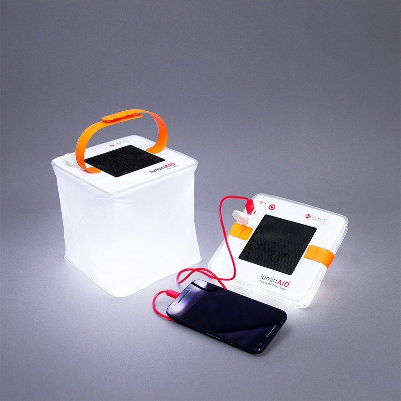 PackLite Max 2-in-1 mobile phone amphibious solar lantern