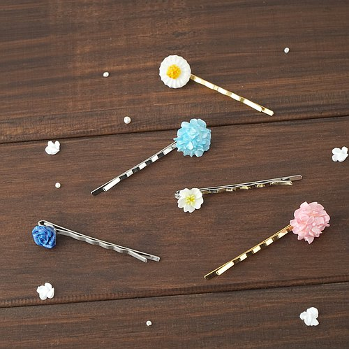 =Flower Piping= Customize Floral Hair Pin