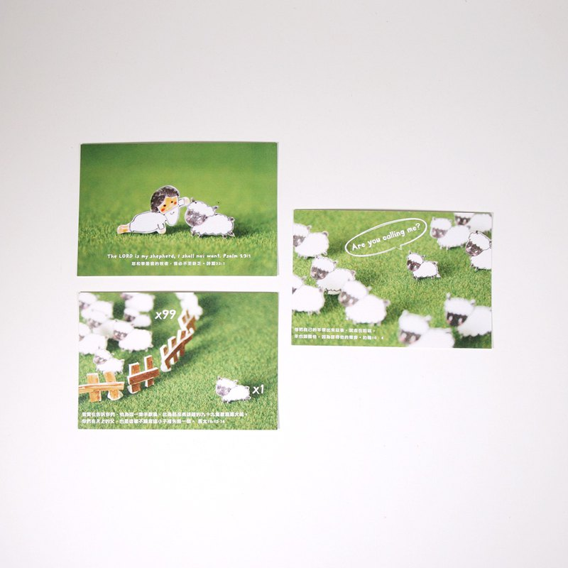 Sheep postcard set