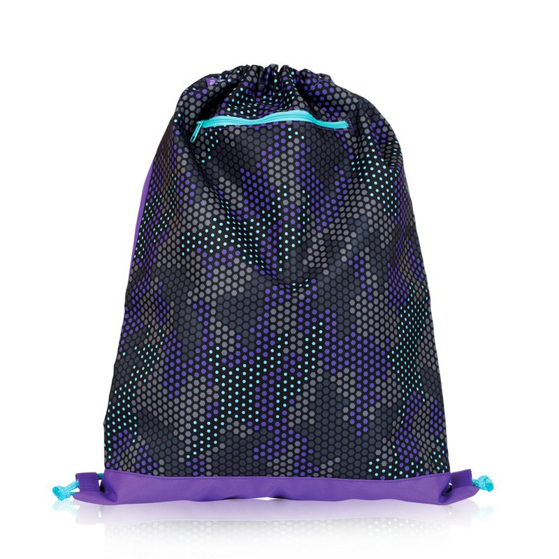 Tiger Family Explorer's Lightweight Drawstring - Camo Violet