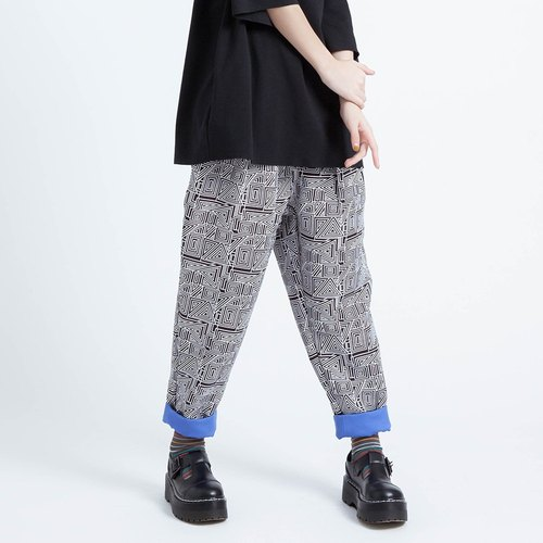 Corsage cycle / retro pop pants Taiwan design