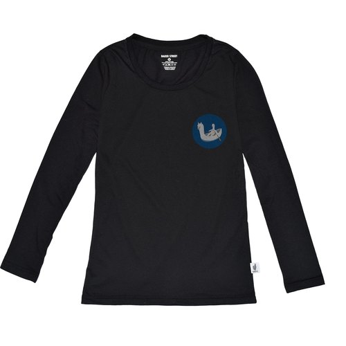 British Fashion Brand [Baker Street] Little Stamp:Boating Printed Long Sleeve