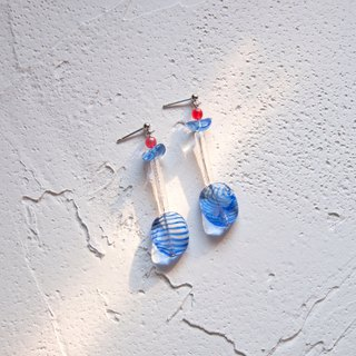 Blue Lagoon Cocktail Earrings
