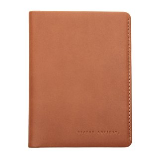CONQUEST passport holder _Camel / camel