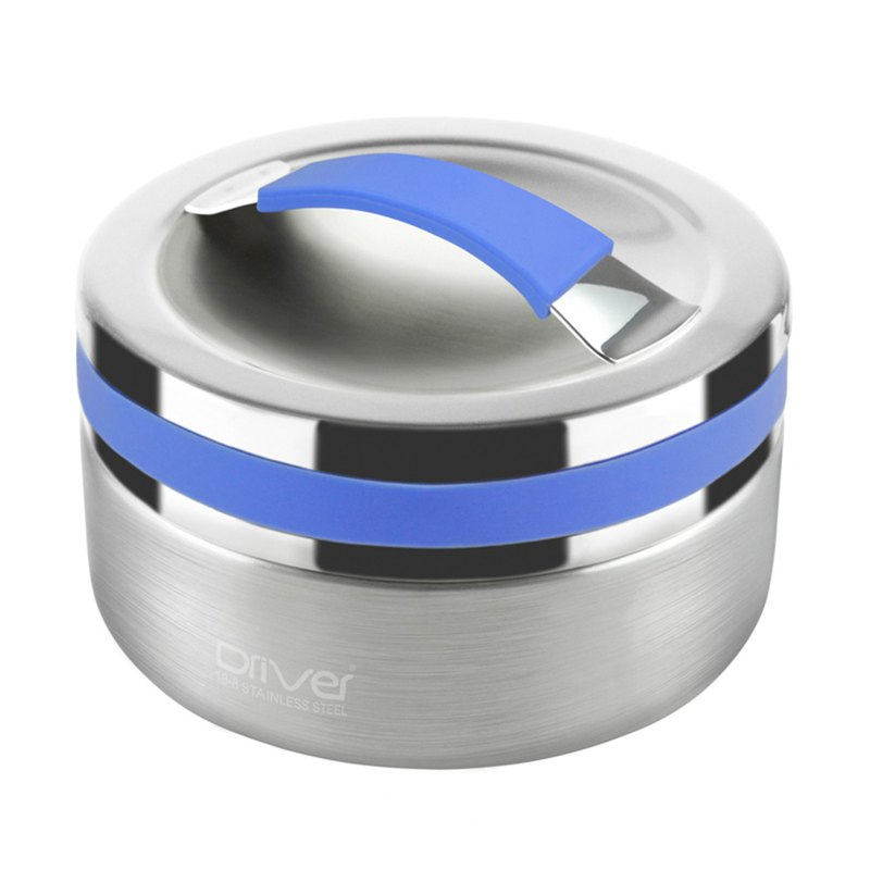 90% Off Showcase-Steamed Rice Cooker Pot Environmental Cutlery - Driver Double Bento Box - Blue