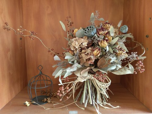 【OliverGreen Drying Flowers Series】 Time - outside the bouquet ‧ marriage proposal bouquet ‧ married flowers -