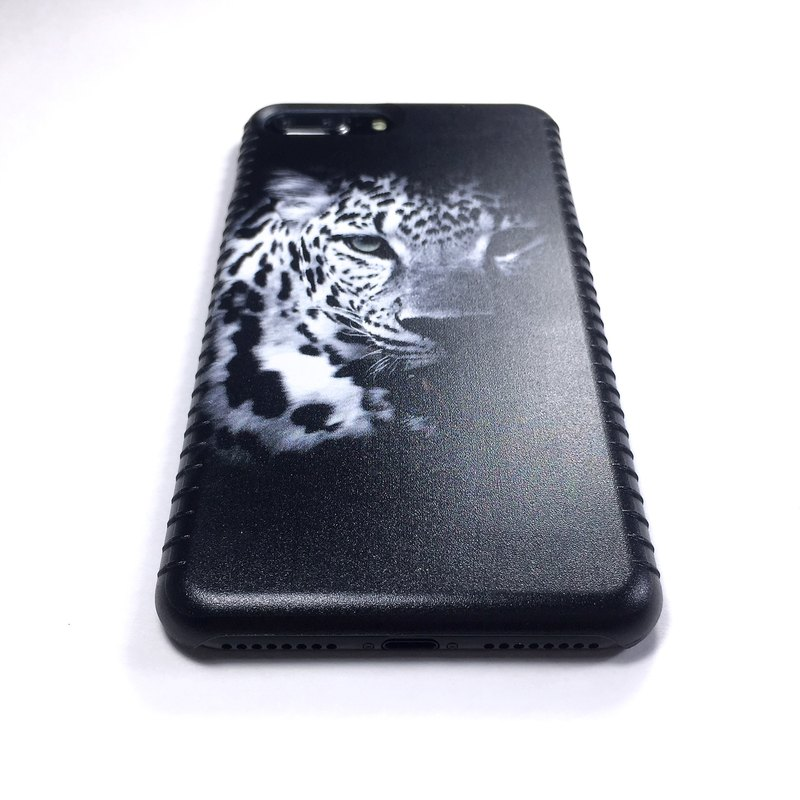 Big Cat Phone Case Ready for iPhone 8 Plus iPhone 7 Ms. Young