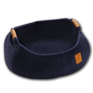 Lifeapp Cat Basket BASKET BOWL_Navy