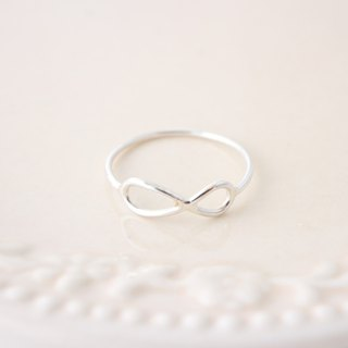 ☆ Infinity ring / 925 sterling silver ring / birthday gift anniversary gift