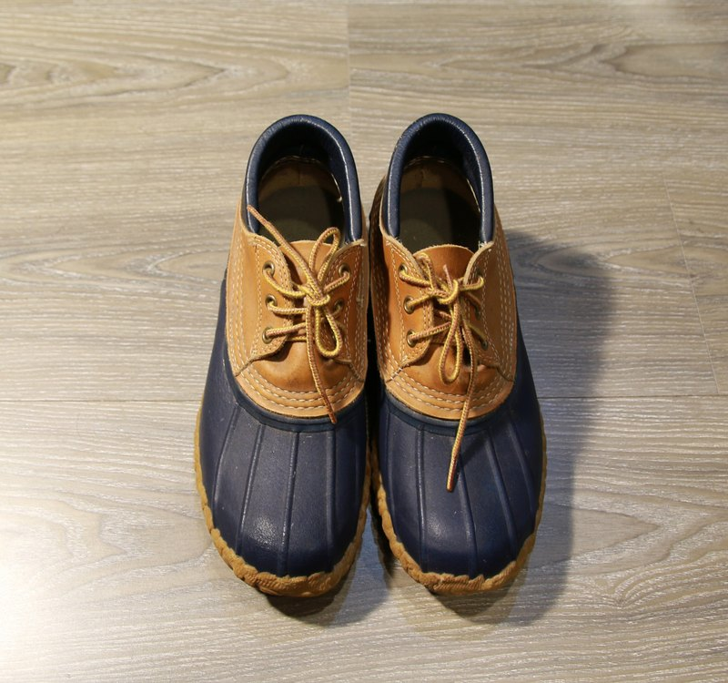 Back to Green :: LLBean Duck Boots vintage shoes