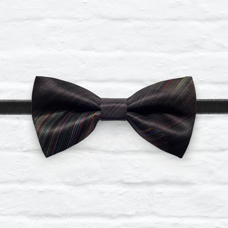 Style 0279 Modern Boys Bowtie, Toddler Bowtie Toddler Bow tie, Groomsmen bow tie, Pre Tied and Adjustable Novioshk