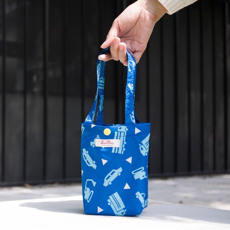 小車噗噗快速收納防水飲料提袋