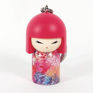 Key ring - Yuka warm heart energy [Kimmidoll and Fu doll key ring]