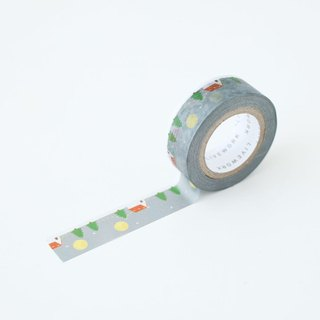 livework-Piyo paper tape (single) - snowing, LWK53220