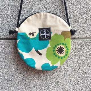 toutoubags/ big pie bags-beauty flower(tiffany green)