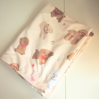 Toy Poodle Soft Fleece Blanket
