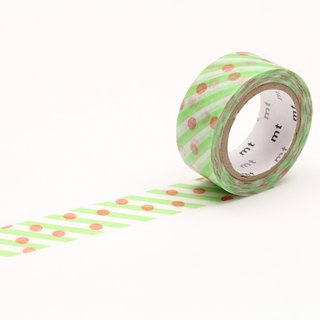 mt fab Double Side Printed Masking Tape【Dot × Stripe (MTDSPR01)】2018SS