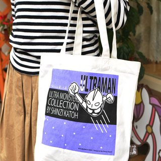 [Ultraman] Shinji Kato Series ULTRA recommend CANVAS TOTEBAG Ultraman pattern canvas bag ★ gift