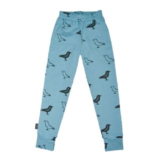 Nordic Organic Cotton Kids Leggings Sky Blue 1 Year ~8 Leggings le6