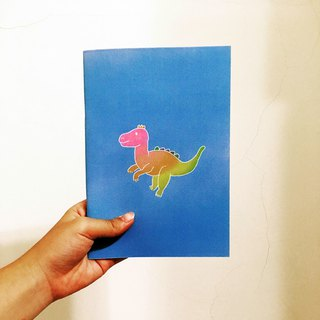 A5 color dinosaur notebook