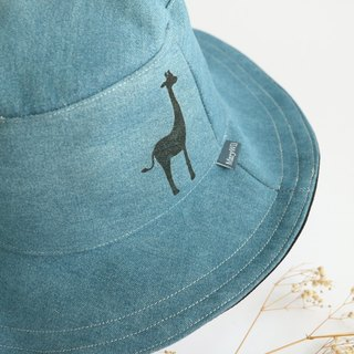 Mary Wil Handsome Hooded Hat - Cowboy Giraffe