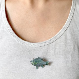 adc | party animal | fish | brooch