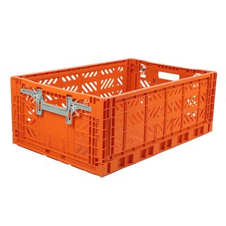 Turkey Aykasa Folding Storage Basket (L) - Orange Red