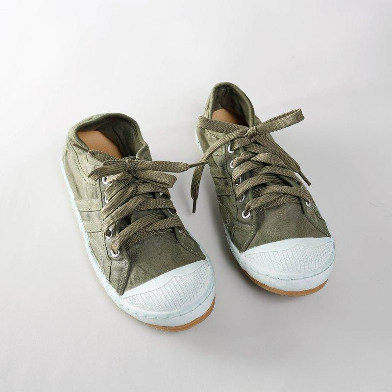 帆布鞋-LANA 洗染系列 森林