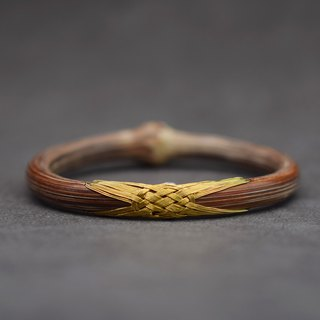 Daji brass wind vine bracelets from time to time original design natural wild medicine rattan bracelet old craft manual fine editing