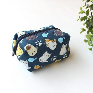 Sell ​​cute kitten style coin purse / storage bag