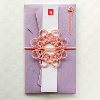 Money Gift Envelop Spreading Light Pink Ripple