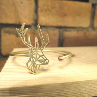 Geometric Deer one head bracelet