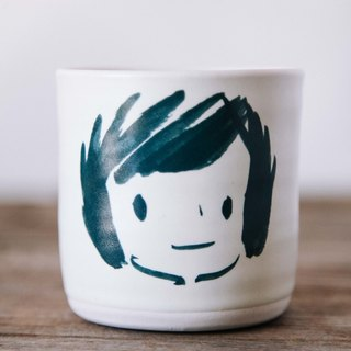 Brut Cake hand pottery - smile mug 280ml-13