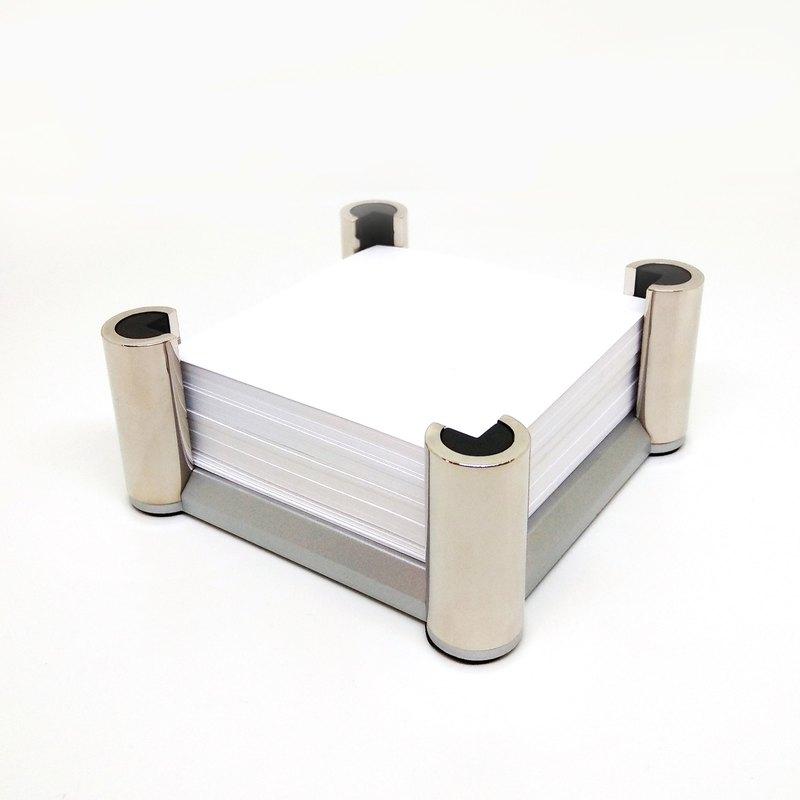 【特價】早期古件-德國頂級銀色桌上型便條紙架 | Lerche
