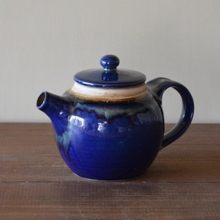 Pot cobalt blue