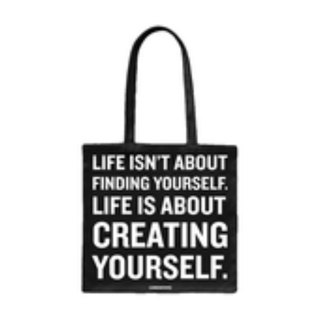 Creating Yourself canvas bag