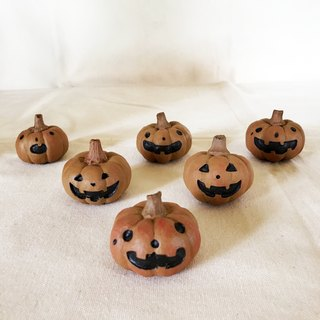 Hand made pumpkin ghost ornaments
